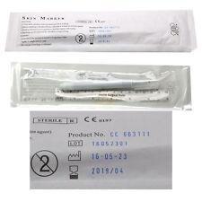 Skin Marker Ruler Set Pen Microblading SPMU Permanent Makeup Sterile Tattoo UK