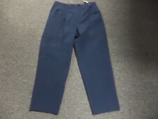 ROHAN Navy Blue Solid Cotton Blend Casual Men's Cargo Pants Size 38 EE2108