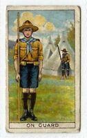 (Gr627-414) Pascall, Boy Scout Series, On Guard, Golden Maltex 1912 G