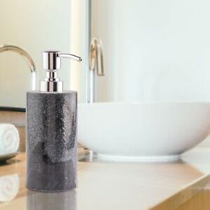 Handmade Luxury White Solid Marble Soap liquid Sanitizer  Dispenser Soap Bottle