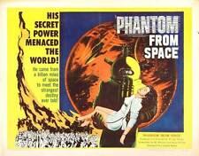 PHANTOM FROM SPACE Movie POSTER 22x28 Half Sheet Ted Cooper Harry Landers Noreen
