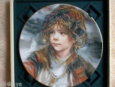 "Portraits of ""Panchito"" Francisco Masseria Royal Doulton Gold Rim Plate #7095"