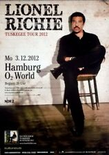 RICHIE, LIONEL - COMMODORES - 2012 - Konzertplakat - Tourposter - Hamburg