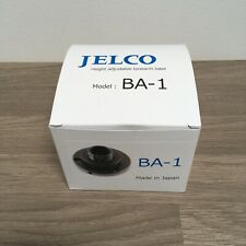 Jelco BA-1 black mounting collar for Jelco tonearms with Easy VTA