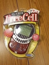 big screen Freecell larger screen ratica solitaire new Factory sealed smart