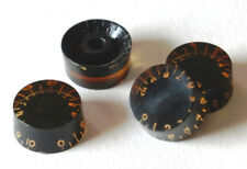Aged Black Speed Knobs True Historic GuitarSlinger Parts fits to Les Paul ®