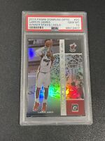 2019-20 Optic Lebron James Winner Stays Silver Holo PSA 10 GEM, Heat, Lakers