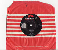 The Who Single 45 RPM Speed Vinyl Records