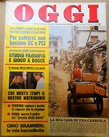 OGGI 21/1976 IPNOSI LA MALFA LIGGIO BRAMIERI VALLONE EKBERG CHRISTIAN POWER