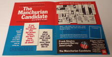 VINTAGE 1962 Manchurian Cadidate 12x18 Industry Poster Ad Frank Sinatra