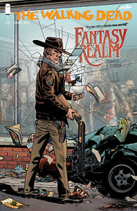 THE WALKING DEAD #1  FANTASY REALM Variant Cover             / 2018 Image Comics