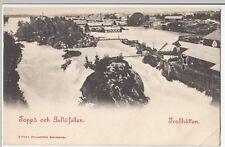 Sweden; Trollhattan, Toppo och Gullofallen PPC, UB, Unused, c 1900 - 1905