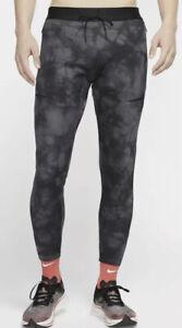 Nike Tech Pack Men's Running Training Tights Pants Black/Gray Sz Small S BV5486