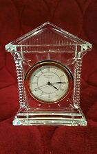 Waterford Crystal Acropolis Clock