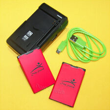 For Nokia Lumia 520 521 525 530 C3 C3-00 1800mAh Battery BL-5J or USB/AC Charger