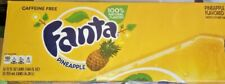 Fanta Pineapple Soda 12 Pack 12 oz. Cans Caffeine Free