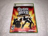Guitar Hero II (Microsoft Xbox 360, 2007) Game Complete LN Mint!