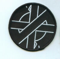 Crass Embroidered Patch Anarcho Punk Rock Steve Ignorant Anti War Peace Punks