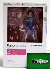 In STOCK Max Factory Figma Overwatch D.Va 408 Action Figure