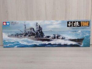 Tamiya 1/350 Ship Series No.24 Japanese Navy Heavy Cruiser Tone Plastic FedEx