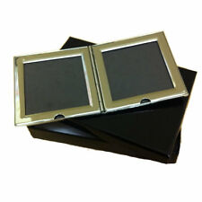 Double Photo Frame Engraved Free with your message, Ideal Gift, 60 x 60mm x 7mm