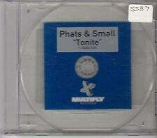 (BW436) Phats & Small, Tonite - 1999 DJ CD