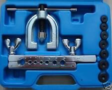 """BGS 8615 Doppel Bördelgerät  4,75-10mm, 1/4"""" + 1/2""""  Bremsleitungen bördeln"""