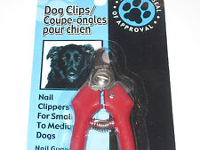 Dog Nail Clippers For Small to Medium Dogs - Nail Guard, Trimmers, Grooming Tool