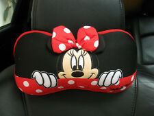 Minnie Mouse Disney Car Accessory #Red 1 pc Neck Rest Cushion Head Pillow