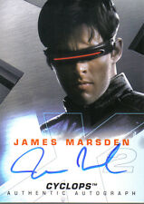 X MEN X2 MOVIE AUTOGRAPH CARD JAMES MARSDEN AS CYCLOPS
