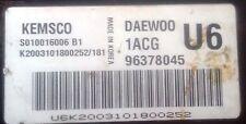 DAEWOO NUBIRA PETROL A16DMS 1,6cc ENGINE CONTROL UNIT ECU KEMSCO S010016006 B1