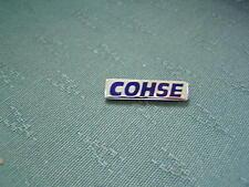 COHSE - HEALTH SERVICE TRADE UNION ENAMEL PIN BADGE - FATTORINI
