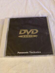 DVD-A DVD AUDIO Sampler Sealed! Panasonic/Technics 11 Tracks 1999 VFV0156