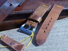 Hand made 22mm Swiss Ammo pouch watch strap.
