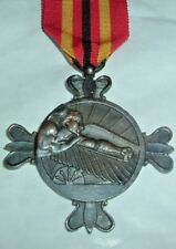 MEDALS-ORIGINAL SPAIN/SPANISH BLUE DIVISION ROYAL CITY MEDAL WW2 RUSSIAN FRONT