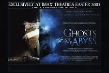 GHOSTS OF THE ABYSS Movie POSTER 27x40 Bill Paxton Dr. John Broadwater Dr. Lori