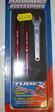 TRAXXAS 5141R TOE LINKS MAXX TUBES ALUMINUM RED 112MM FRONT 2 NEW NIP