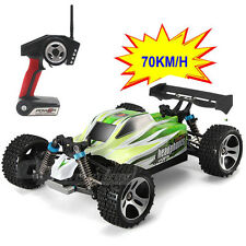 Upgraded 70km/h Wltoys High Speed 1:18 4WD Off-Road 2.4G RC Buggy  Car