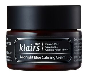 Klairs Midnight Blue Calming Cream (30 mL) - Soothes skin Korean skincare