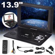 "10.1""Auto Tragbarer Portable 3D DVD CD Kopfstützen Monitor Player SD USB TV Game"
