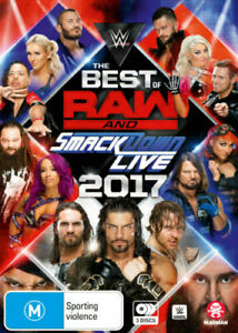 WWE: Best of Raw & Smackdown 2017 (DVD) Brand new sealed 3dvd set!