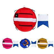 Premium Floating Freediving Buoy with Dive Flag for Scuba Diving Snorkeling