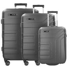Travelite Vector 2/4-Rollen Kofferset Reisegepäckdset 3tlg. (anthrazit)