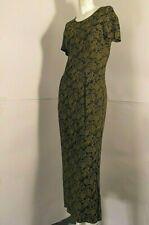 LAURA ASHLEY vintage dresses all length gap behind brocade black mustard sz UK10