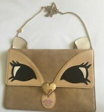 $68 Betsey Johnson Kitsch Sweet Critters Be A Deer Clutch Xbody BUP33