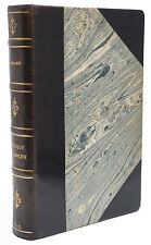 Tropique Du Cancer Henry Miller French Edition Leather Book 1945