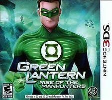 2011 Green Lantern Rise of the Manhunters Nintendo 3 DS   New Factory Sealed 10+