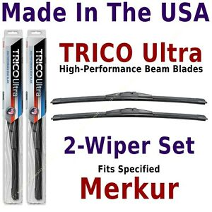 Buy American: TRICO Ultra 2-Wiper Blade Set fits listed MerKur: 13-20-20