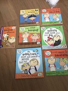 Charlie & Lola 7 Book Set Hardback Paperback
