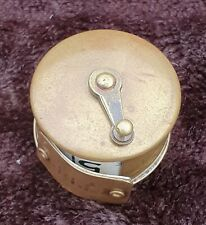 A Vintage Brass Cased Tape Measure